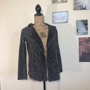 BB Dakota tweed moto cardigan jacket, Sz. XS